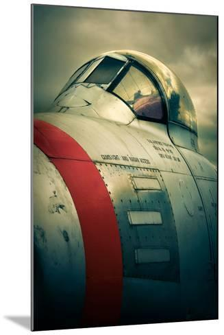 Sabre Cockpit-David Bracher-Mounted Photographic Print