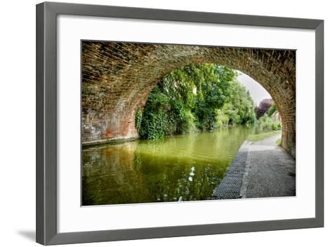 The Bridge at Hungerford-Tim Kahane-Framed Art Print