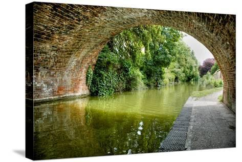 The Bridge at Hungerford-Tim Kahane-Stretched Canvas Print