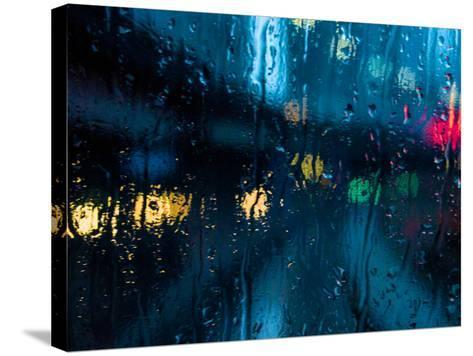 Nothing But Rain-Sharon Wish-Stretched Canvas Print