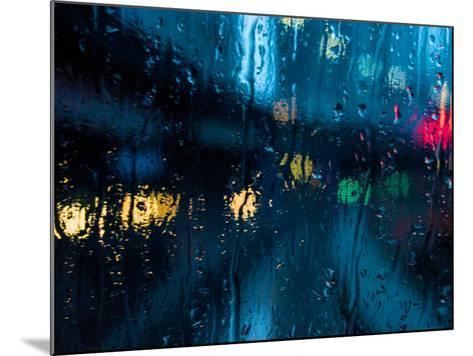 Nothing But Rain-Sharon Wish-Mounted Photographic Print