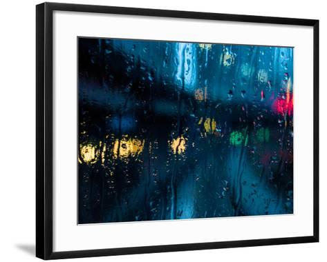 Nothing But Rain-Sharon Wish-Framed Art Print