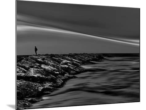 On the Rocks Bw-Josh Adamski-Mounted Photographic Print