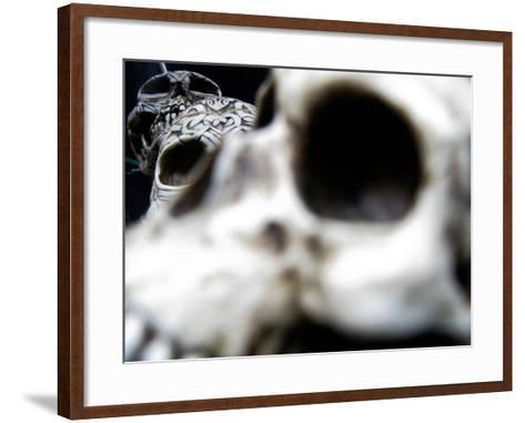 Human Skulls-Jason Martin-Framed Art Print