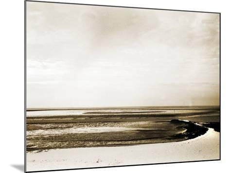 A Flat Expanse at the Beach-Katrin Adam-Mounted Photographic Print
