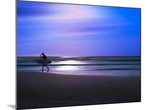 Blue Surfer II-Josh Adamski-Mounted Photographic Print