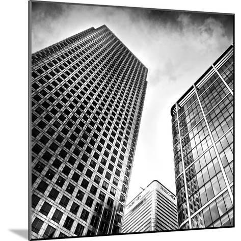 Canary Wharf, London-Craig Roberts-Mounted Photographic Print