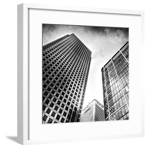Canary Wharf, London-Craig Roberts-Framed Art Print
