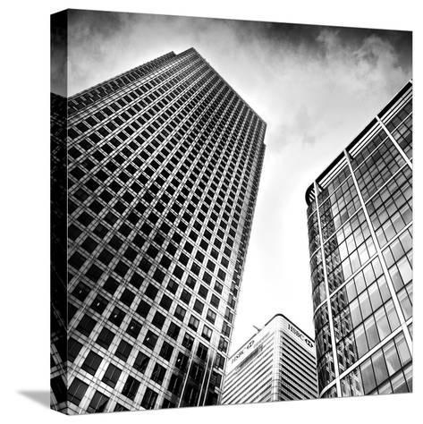 Canary Wharf, London-Craig Roberts-Stretched Canvas Print