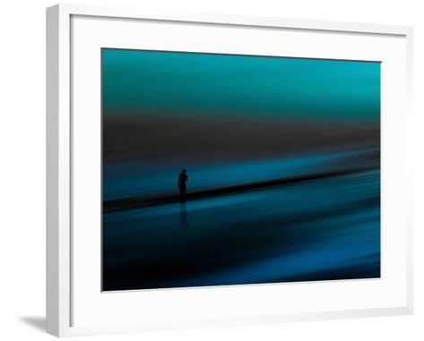 Aqua-Josh Adamski-Framed Art Print