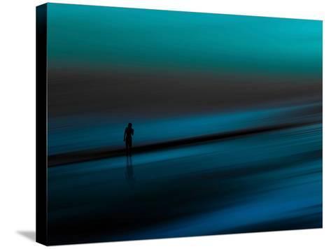 Aqua-Josh Adamski-Stretched Canvas Print