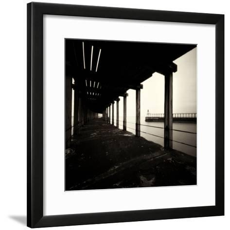 The Old Jetty-Craig Roberts-Framed Art Print