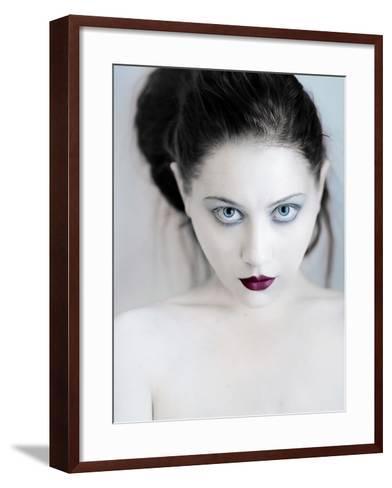 Back to Black-Elizabeth May-Framed Art Print