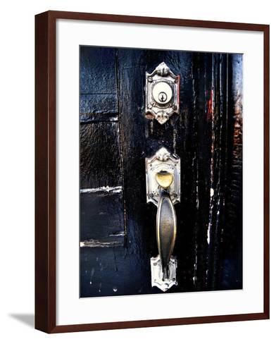Entry in Black-Jody Miller-Framed Art Print
