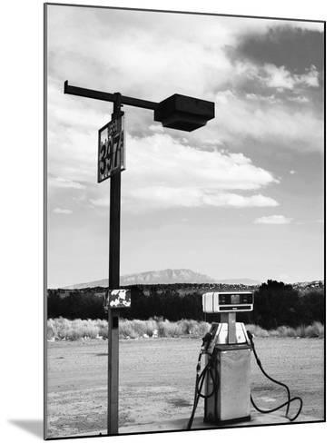Gas Pump and New Mexico Landscape Sky, San Ysidro 2-Kevin Lange-Mounted Photographic Print