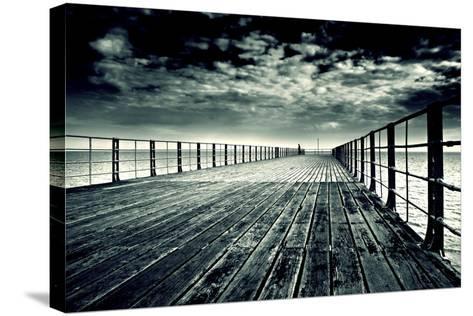 Bognor Regis Pier No. 2-Andy Bell-Stretched Canvas Print