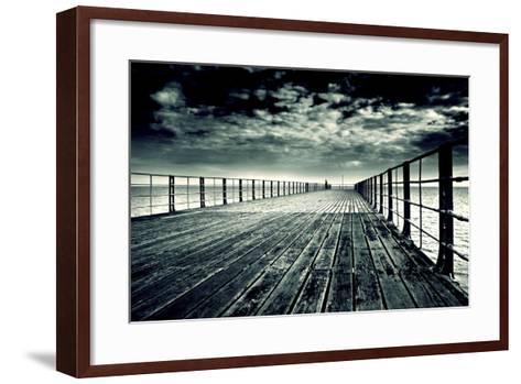 Bognor Regis Pier No. 2-Andy Bell-Framed Art Print