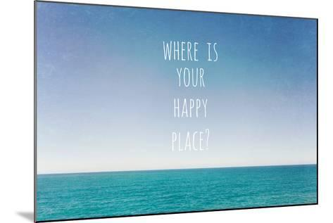 Where Is Your Happy Place-Susannah Tucker-Mounted Photographic Print