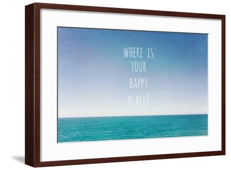 Where Is Your Happy Place-Susannah Tucker-Framed Art Print