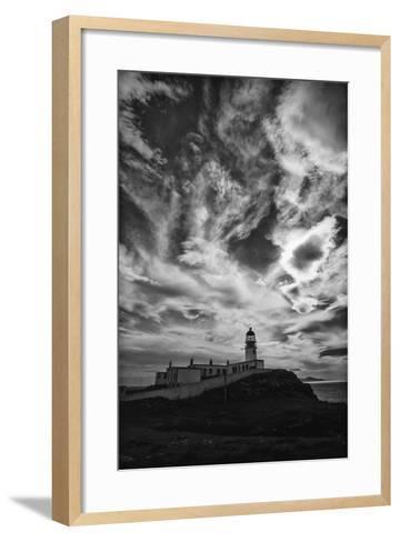 Light Change Over Lighthouse-Rory Garforth-Framed Art Print