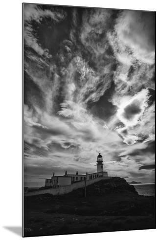 Light Change Over Lighthouse-Rory Garforth-Mounted Photographic Print