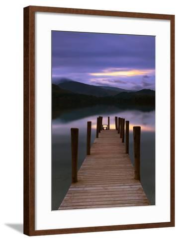 The Jetty-David Baker-Framed Art Print