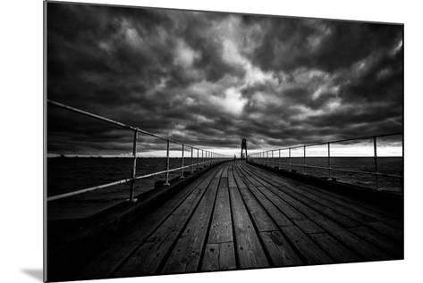 Whitby Pier-Rory Garforth-Mounted Photographic Print