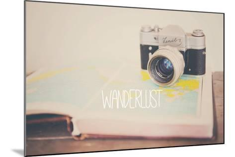 Wanderlust ...-Laura Evans-Mounted Photographic Print