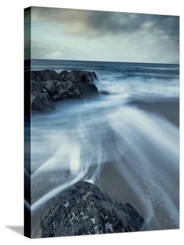 Sands of Time-David Baker-Stretched Canvas Print