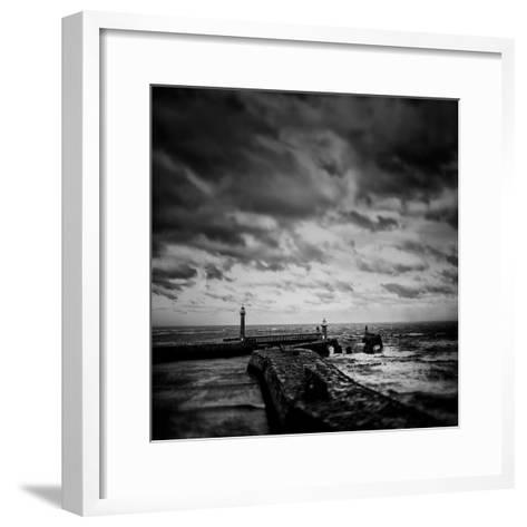 Whitby Blowing-Rory Garforth-Framed Art Print