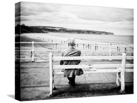 An Old Man & the Sea-Rory Garforth-Stretched Canvas Print