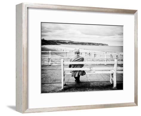 An Old Man & the Sea-Rory Garforth-Framed Art Print