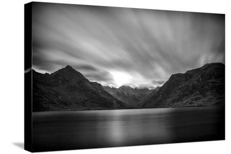 Loch Coruisk And Black Cuillin-Rory Garforth-Stretched Canvas Print