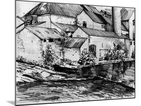 The Old Mill On the Exe-Tim Kahane-Mounted Photographic Print