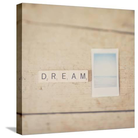 Dream ...-Laura Evans-Stretched Canvas Print