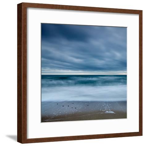 Blue Tide-David Baker-Framed Art Print