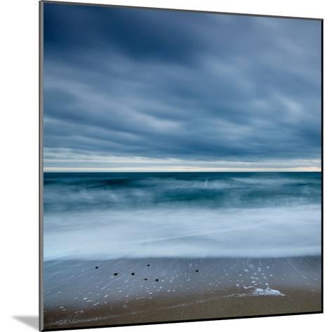 Blue Tide-David Baker-Mounted Photographic Print