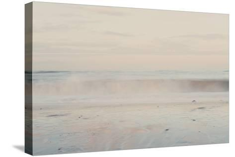 The Sound of the Waves ...-Laura Evans-Stretched Canvas Print