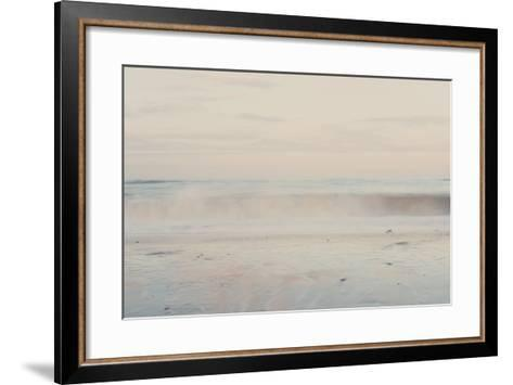 The Sound of the Waves ...-Laura Evans-Framed Art Print
