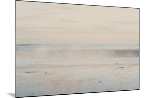 The Sound of the Waves ...-Laura Evans-Mounted Photographic Print