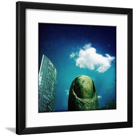 Sculpture in Paris-Craig Roberts-Framed Art Print