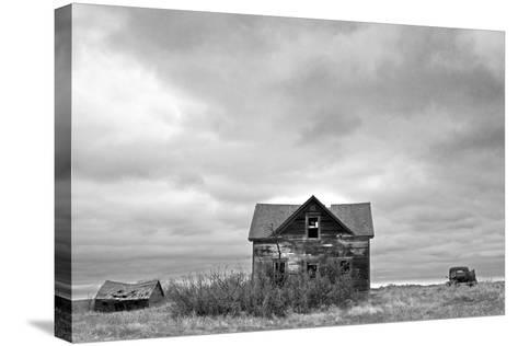 Abandoned House and Truck-Rip Smith-Stretched Canvas Print