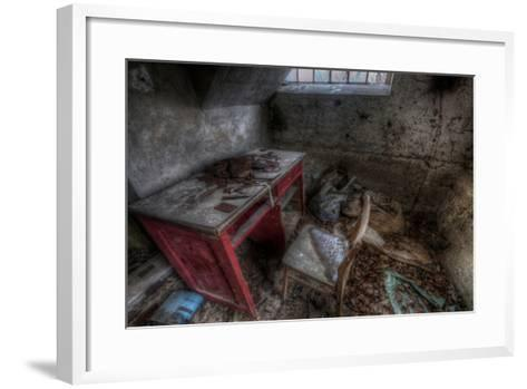 Abandoned Room Interior-Nathan Wright-Framed Art Print