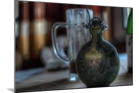 Old Bottle of Schnaps-Nathan Wright-Mounted Photographic Print