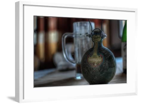 Old Bottle of Schnaps-Nathan Wright-Framed Art Print