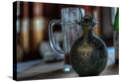 Old Bottle of Schnaps-Nathan Wright-Stretched Canvas Print