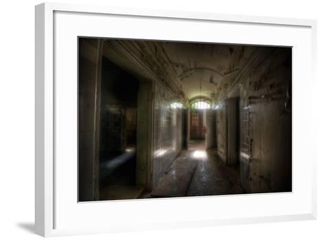 Abandoned Building Interior-Nathan Wright-Framed Art Print