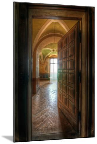Studded Door-Nathan Wright-Mounted Photographic Print