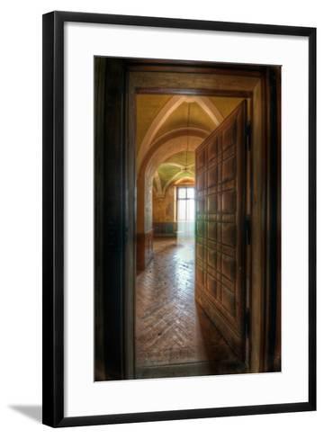 Studded Door-Nathan Wright-Framed Art Print