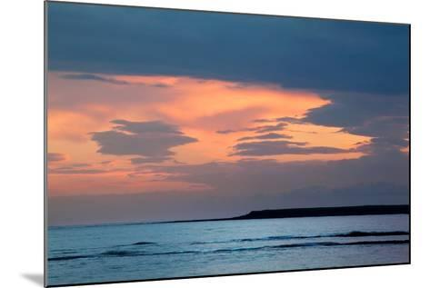 Dawn Sky over Sea-Mark Sunderland-Mounted Photographic Print